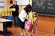 Letos přivítali v Základní a mateřské škole na Nové Vsi nad Nisou celkem 6 prvňáčků.