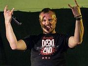 KAPELA VLTAVA na festivalu Rock for Churchill 2012 ve Vroutku.