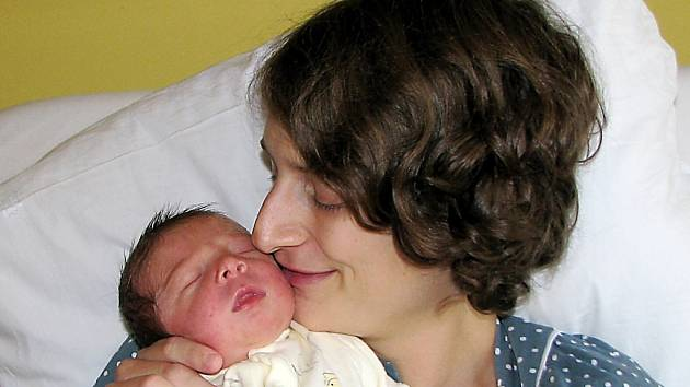 Zuzana Warausová se synem Vilémem