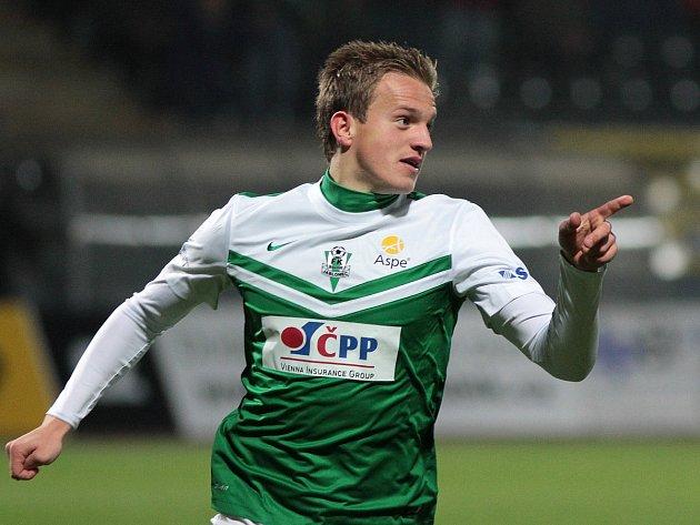 Jan Kopic po vstřeleném gólu na 2:0