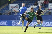 Podještědské derby nemá vítěze. Zápas mezi FC Slovan Liberec a FK Jablonec skončil 0:0.