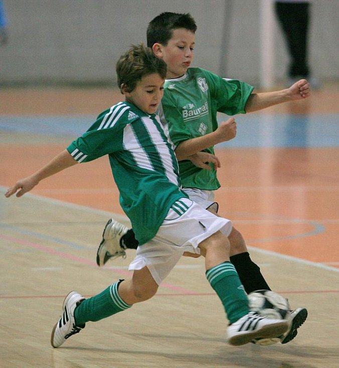 Turnaj přípravek, který pořádal SK Rapid Jablonec 05, vyhrál Meteor Praha VIII.