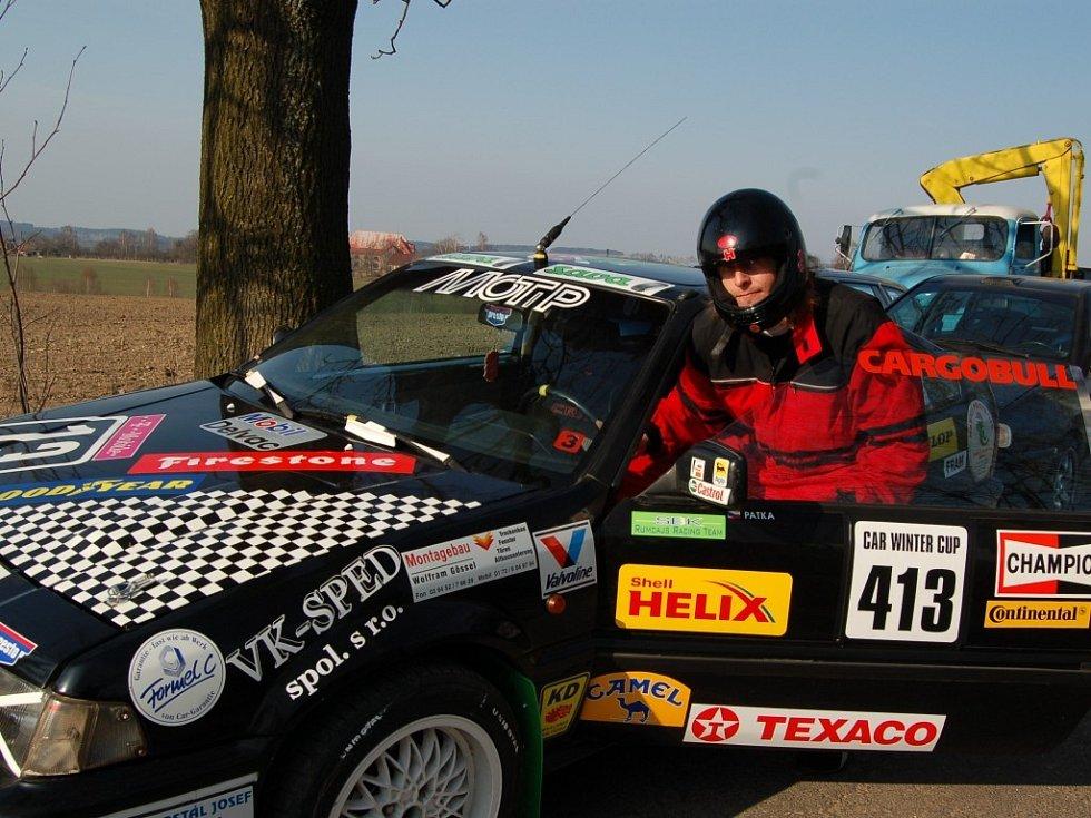 Na Car Winter Cup přijel závodit také Slávek Patka z Jičína.