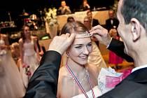 Orchestr Rudy Janovského asistoval třeba i na posledním věnečku podzimních tanečních kurzů TOPDANCE a vyhlášení ankety Princezna tanečních