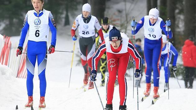 Český pohár v běhu na lyžích pokračoval o víkendu v Jablonci nad Nisou na kolečku v Břízkách.