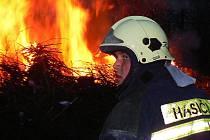 Sbor dobrovolných hasičů v Jabloneckých Pasekách.
