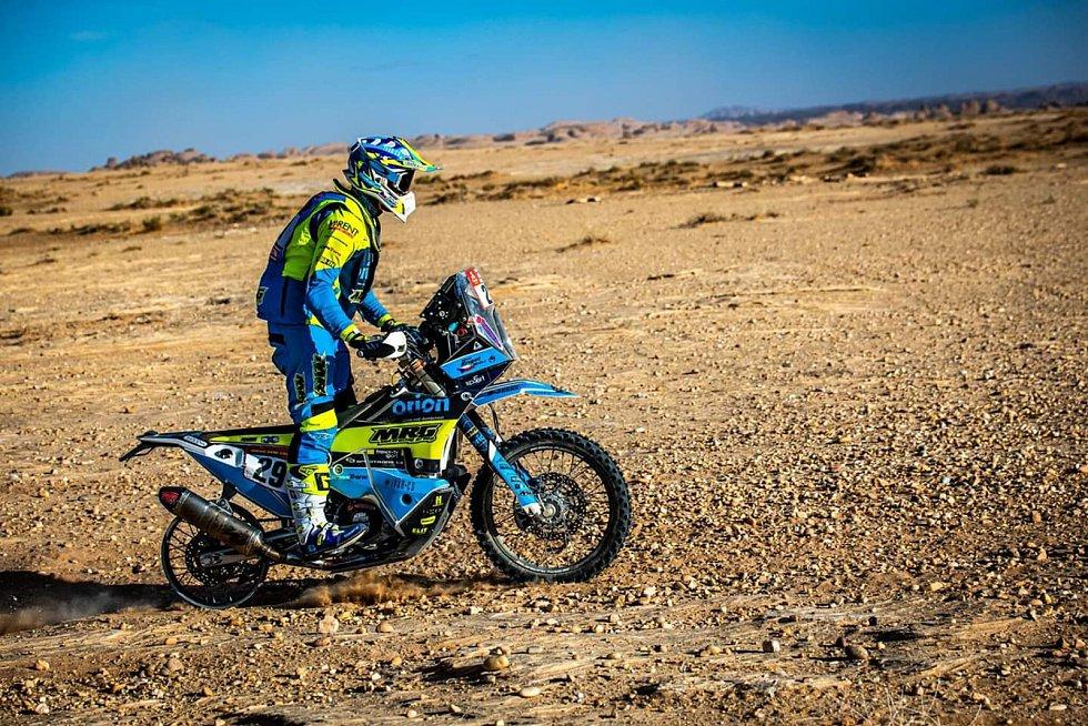 Milan Engel z Josefova Dolu patří mezi odvážné, kteří jedou Dakar.