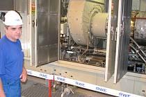 Ilustrační snímek, zásobník plynu
