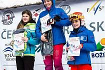 skicrossaři trénují