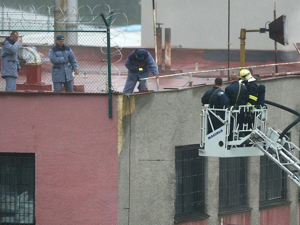 Největší cvičení ve Věznici Rýnovice za posledních dedset let.