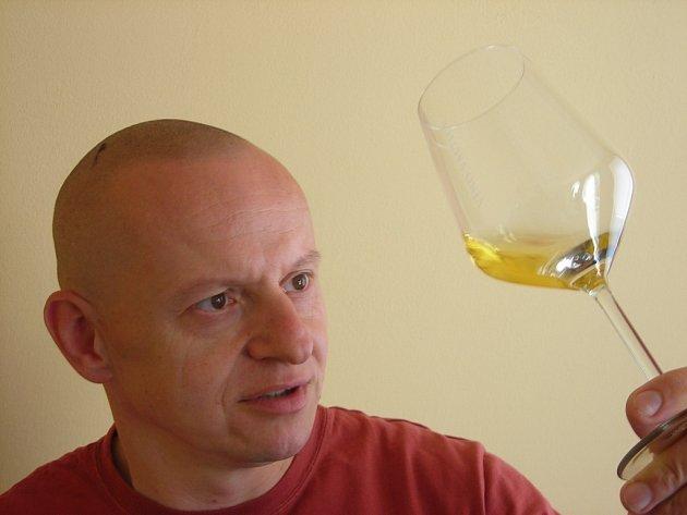 Petr Krejčík, manažer Domu Vína Jablonec