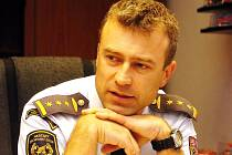 Roman Hlinovský, náměstek ředitele HZS LK, šéf krizového štábu.