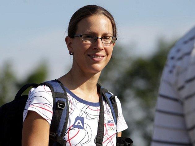 Triatlonistka Radka Vodičková skončila v Londýně na 20. místě.