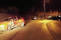 Úterní nehoda v Lučanech nad Nisou