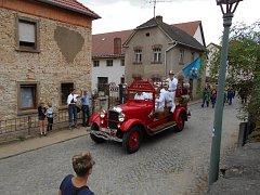 Lučanští slavili výročí partnerského města Neschwitz.