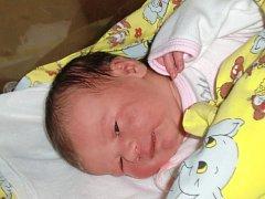 Natálie Nosková se narodila Kristýně a Jaromírovi Noskovým ze Smržovky 22. 10. 2014. Vážila 3300 g a měřila 48 cm.