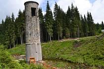 Areál Protržené přehrady na Bílé Desné.