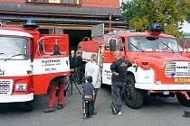 Rychnovští dobrovolní hasiči.