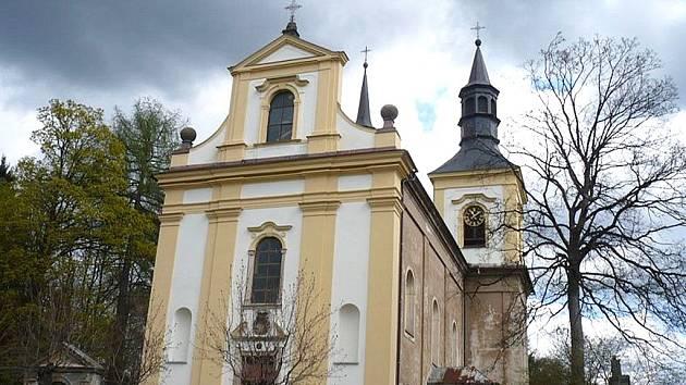 Kostel sv. Václava Rychnov u Jablonce