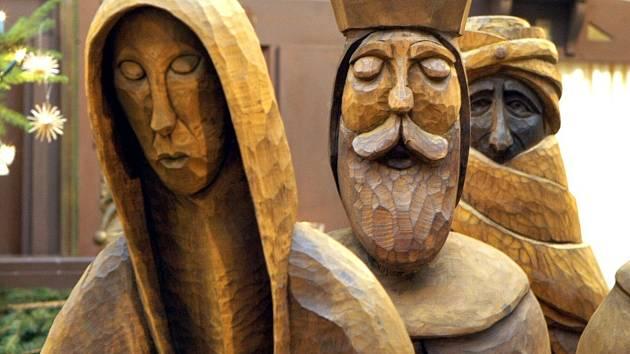 Část Loučenského betlému