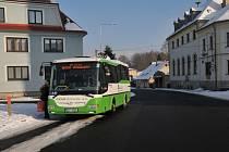 Autobusová linka 159 vyjela poprvé již 29. února