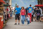 Hudební festival Eurion s tradičními letními slavnostmi pokračoval 18. srpna v lesoparku u Parkhotelu na Smržovce.