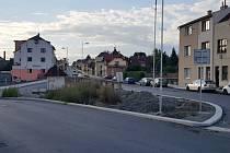 Nádražní ulice v Turnově.