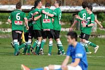 Radost fotbalistů Velkých Hamrů
