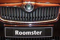 Automobil Škoda Roomster. Ilustrační snímek.