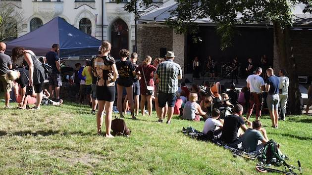 Amfiteátr v centru Jablonce nabídl kulturní program po celé léto.