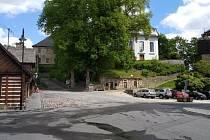 Malé náměstí v Železném Brodě