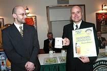Rohozecký pivovar získal za Skalák titul Desítka roku. Na snímku ředitel pivovaru František Jungmann.