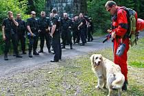 Ilustrační foto z cvičení záchranářů na téma hledání pohřešovaných osob