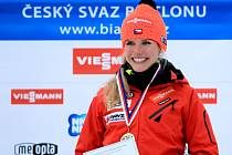 Gabina v Oberhofu vyhrála