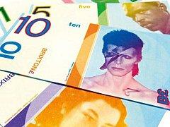 V Brixtonu vydávají neplatné bankovky s Davidem Bowie.
