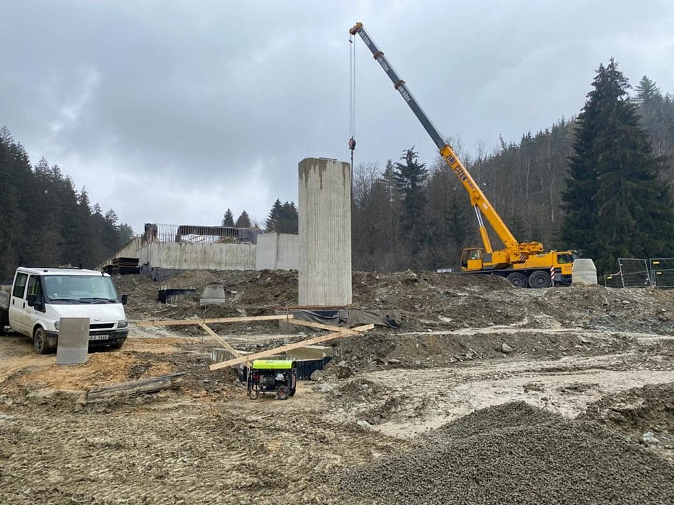 Rekonstrukce křižovatky Rádelský mlýn.