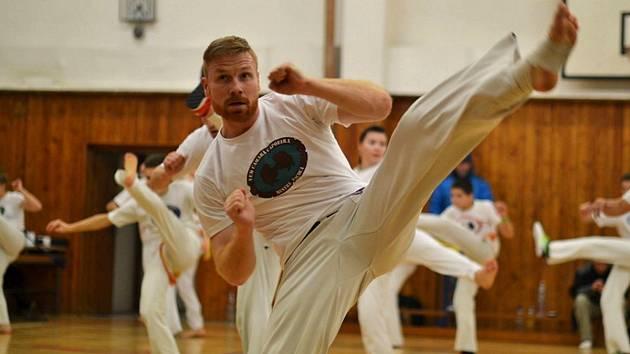 Miroslav Riedel z jabloneckého klubu Vem Camará Capoeira