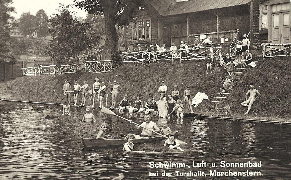Vzdušno-světlo-sluneční lázně ve Smržovce vznikly v roce 1924.