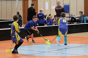 Zimní turnaj ve florbalu v Jablonci nad Nisou