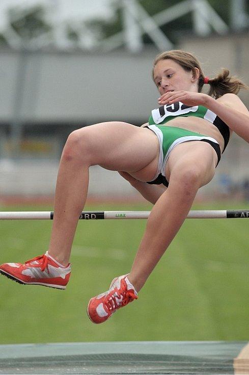 V Jablonci nad Nisou se víkendu konaly závody v atletických vícebojích.
