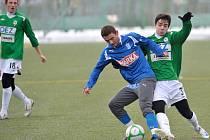 V dalším přípravném utkání přivítal prvoligový FK BAUMIT Jablonec na svém umělém trávníku ve Mšeně vedoucí prvoligové družstva polské ligy a účastníka jarních bojů Poháru UEFA KKS Lech Poznaň. V bojovném utkání  zvítězili domácí 2:1 po poločase 0:0.