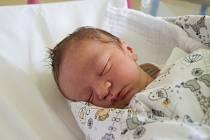 FRANTIŠEK BOUMA se narodil v neděli 6. května mamince Jitce Boumové z Hrádku nad Nisou. Měřil 49 cm a vážil 2,95 kg.