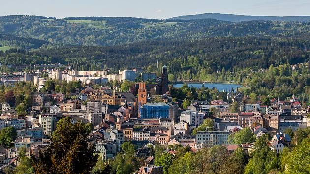 Město Jablonec nad Nisou.