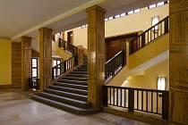 Interiér radnice v Jablonci nad Nisou.
