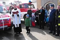 Jablonecký děkan Oldřich Kolář připomněl, jak důležitá je práce hasičů pro občany.
