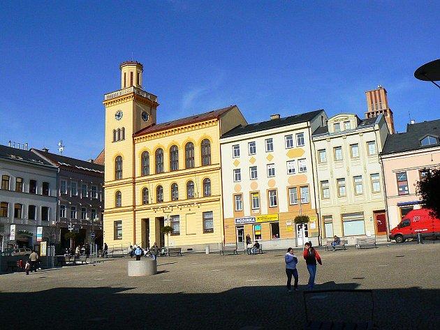 Městská knihovna v Jablonci.