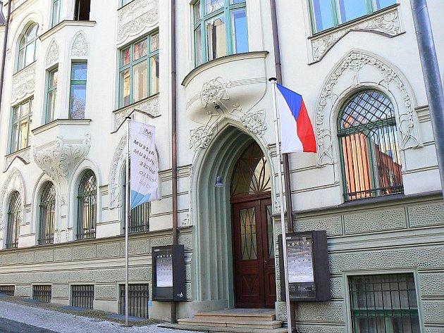 Muzeum skla a biřuterie v Jablonci.