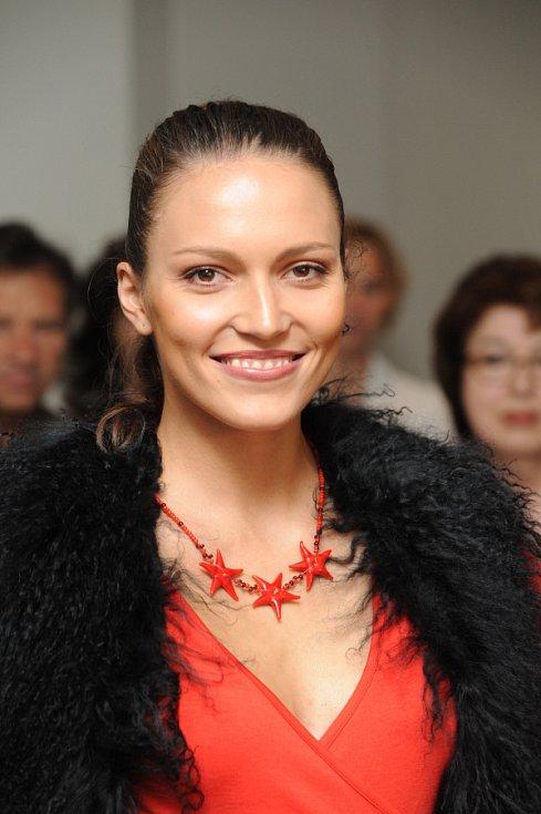 Modelka Kateřina Chládková