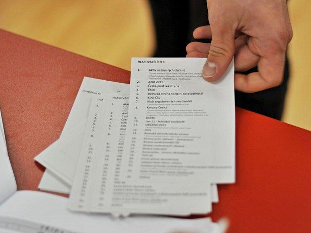 Volební lístky