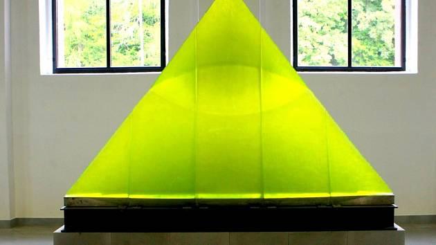 Plastika Zelené oko autorů Libenský - Brychtová
